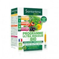 Santarome Bio Programme ultra minceur Solution buvable 30 Ampoules/10ml à SAINT-VALLIER