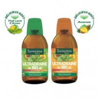 Ultradraine Bio Solution buvable Thé vert citron Fl/500ml à SAINT-VALLIER