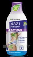 4321 Minceur 4 Actions Solution buvable Fl/280ml à SAINT-VALLIER