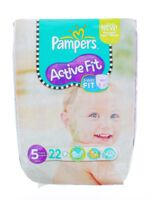 PAMPERS COUCHES ACTIVE FIT TAILLE 5 11-25 KG x 22 à SAINT-VALLIER
