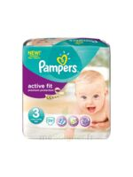 PAMPERS COUCHES ACTIVE FIT TAILLE 3 4-9 KG x 26 à SAINT-VALLIER