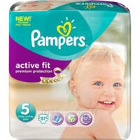 PAMPERS COUCHES ACTIVE FIT TAILLE 5 11-25 KG x 20 à SAINT-VALLIER