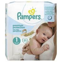 Pampers couches new baby sensitive taille 1 - 21 couches à SAINT-VALLIER