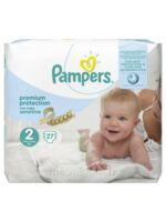Pampers couches new baby sensitive taille 2 - 27 couches à SAINT-VALLIER