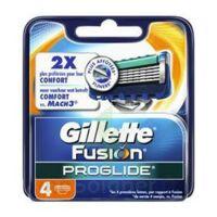 Lames pour rasoir fusion proglide flexball GILLETTE, 4 unités à SAINT-VALLIER