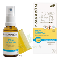 Pranarôm Aromapoux Bio Spray anti-poux 30ml+peigne à SAINT-VALLIER
