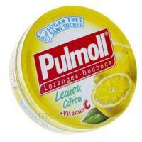 PULMOLL Pastilles citron B/45g à SAINT-VALLIER
