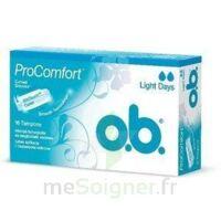 OB PRO COMFORT, light Flow , bt 16 à SAINT-VALLIER