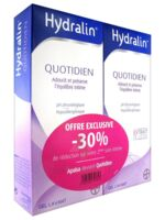 Hydralin Quotidien Gel lavant usage intime 2*200ml à SAINT-VALLIER