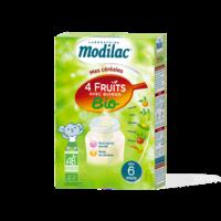Modilac Céréales Farine 4 Fruits quinoa bio à partir de 6 mois B/230g à SAINT-VALLIER